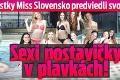 Finalistky Miss Slovensko predviedli svoje zbrane: Sexi postavičky v plavkách!