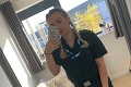 Zdravotníčka Laura pod paľbou kritiky: Čo spustila jedna fotka, nečakala ani v najhoršom sne