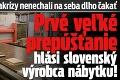 Dôsledky koronakrízy nenechali na seba dlho čakať: Prvé veľké prepúšťanie hlási slovenský výrobca nábytku!