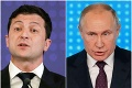 Zelenskyj sa chce s Putinom rozprávať zoči-voči: Ukončia konflikt v Donbase?