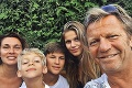 Kramár o najťažšom okamihu rozvodu s exmanželkou: Najmladší syn veľmi trpel