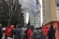 Smrtiaci výbuch plynu v Prešove po minútach: Trosky domu padali medzi vydesených okoloidúcich