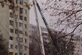 Prežil výbuch plynu aj požiar: Hasiči zachránili život psíkovi z prešovského paneláku smrti