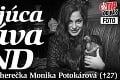 Šokujúca správa z SND: Zomrela mladá herečka Monika Potokárová (†27)