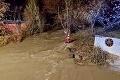 Rozvodnený Muráň so sebou strhol tri ženy: V rieke našli ďalšie telo