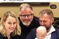 Hrdá mamička Jakeš Štumpfová: Rozkošné fotky z krstu Izabelky, objavila sa aj známa tvár!