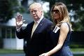 Trumpov poradca si pustil ústa na špacír: Prečo toto Donald a Melania tajili pred svetom?