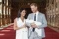Vojvodkyňa Meghan a princ Harry ukázali svetu svoje bábätko: Toto je náš syn!