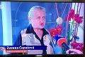 Markíze sa v Televíznych novinách podaril vtipný kiks: Budúcu slovenskú prezidentku na záberoch nik nespoznal!
