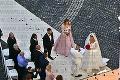Tajné zábery zo svadby Rytmusa a Alagič: Hostí nechali čakať viac ako hodinu