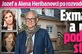 Jozef a Alena Heribanovci po rozvode šokujú vzťahmi: Exmanželka a milenka pod jednou strechou!