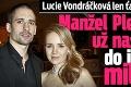 Lucie Vondráčková len ťažko predýchava: Manžel Plekanec si už nasťahoval do ich domu milenku!