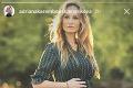 Dočkala sa: Topmodelka Adriana Sklenaříková porodila!