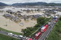 Japonci bojujú s najhoršou kalamitou za posledné desaťročia: Fotky spustošenej krajiny lámu srdce