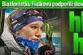 Biatlonistku Fialkovú podporili slovenské osobnosti: Paulína, hlavu hore!