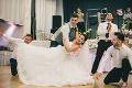 Známi slovenskí tanečníci to rozbalili priamo pred nevestou: Rado prezradil pikošku, z ktorej budete prekvapení