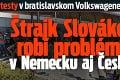Protesty v bratislavskom Volkswagene neutíchajú: Štrajk Slovákov robí problémy vNemecku aj Česku!