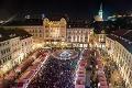 Vianočné trhy v Bratislave sú otvorené: Za najdrahší stánok zacvakali astronomickú sumu!