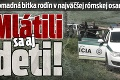 Hromadná bitka rodín v najväčšej rómskej osade na Slovensku: Mlátili sa aj deti!