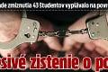 V prípade zmiznutia 43 študentov vyplávalo na povrch tajomstvo: Desivé zistenie o polícii!