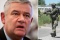 Slota hrubo uráža slovensku armádu: Máme len troch bojaschopných vojakov!