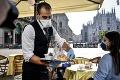 Taliansko uvoľňuje opatrenia: Reštaurácie a bary otvárajú za prísnych pravidiel