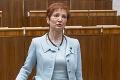Poslankyňa Halgašová sa obula do vlády, žiada tvrdšie opatrenia: Prestaňme zatvárať oči!