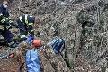 Dramatická záchranná akcia pri Piešťanoch: Martina vyťahovali z 18-metrovej hĺbky!