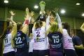 Strabag zdolali aj do tretice: Volejbalistky Slávie získali devätnásty titul