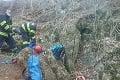 Záchranná akcia v ťažko dostupnom teréne: V okrese Piešťany uviazla v jaskyni osoba