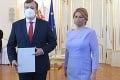 Opäť ministrom práce: Prezidentka Čaputová uviedla Krajniaka do funkcie