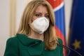 Prezidentka Čaputová vyzvala premiéra na demisiu: Jasný odkaz Matovičovi!
