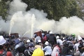 Napätie v Mjanmarsku sa stupňuje: Protesty si vyžiadali ďalšie dve obete