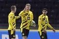 Haaland zostrelil Pekaríkovu Herthu štyrmi gólmi, zahral si aj 16-ročný mladík