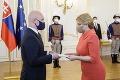 Prezidentka prijala demisiu Ivana Korčoka a Branislava Gröhlinga: Heger dostal do vienka ďalšie ministerstvo