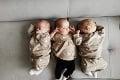 Štefan a Ágnes majú doma riadne rušno: Po synčekovi sa nám narodili trojčatá!