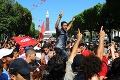 Protivládne protesty v Tunisku neutíchajú: Demonštranti v uliciach vládu obviňujú z korupcie