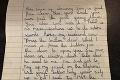 Pár našiel za gaučom viac ako 50 rokov starý list: Predpoveď malého dievčatka sa naplnila!