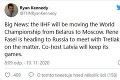 Budú hokejové MS 2021 v Bielorusku? Fasel má náhradné riešenie