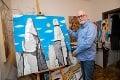 Výtvarník Peter Horváth bol pri zrode Nežnej revolúcie: Na ulici som skončil dobrovoľne!