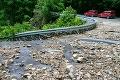 Extrémne vyčíňanie počasia v okrese Revúca: Vyhlásili mimoriadnu situáciu, FOTO skazy