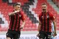 Trnavčania nechceli vidieť oslavy belasých: Slovan odchádza z derby s potupou a bez titulu
