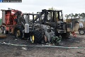Polícia vyšetruje požiar v areáli družstva v Studienke: Podpaľač spôsobil škodu za 133-tisíc