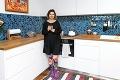 Lujza Garajová-Schrameková má v kuchyni jednu stoličku inej farby: Ten dôvod vás dostane