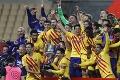 FC Barcelona ovládla Španielsky pohár: Bilbao rozdrvila v druhom polčase