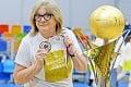 Legendárna basketbalová trénerka Natália Hejková: 24. titul vtretej krajine