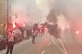 Červeno-čierne peklo v Trnave: Spartak na derby vyprevádzali fanúšikovia