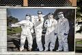 Originálna výstava na sídlisku v Banskej Štiavnici: Pocta hrdinom pandémie nie je všetkým po chuti