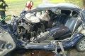Zábery, z ktorých naskakuje husia koža: Pri nehode na Považí vyhasol jeden život