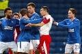 Futbalista Glasgowa to s oslavou prepískol: Pohneval si vlastných fanúšikov